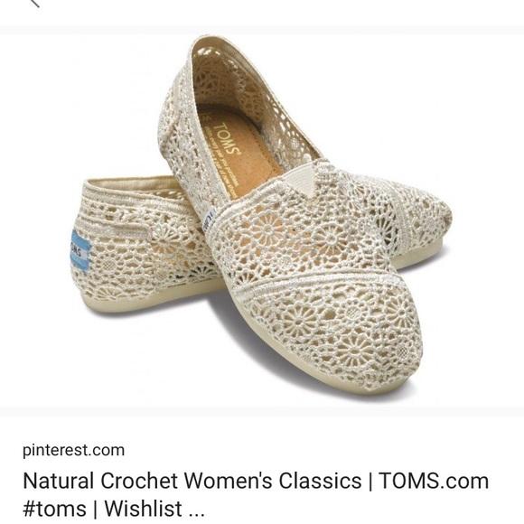 7d5d309e03d Toms Natural Moroccan Crochet Women s Classics